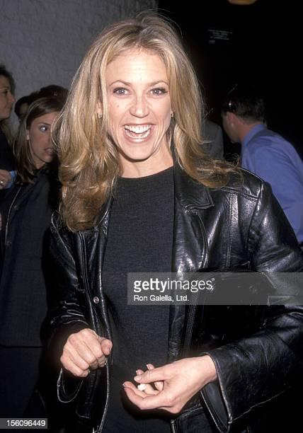 Actress Ally Walker attends the 'Pleasantville' Westwood Premiere on October 19 1998 at Mann National Theatre in Westwood California
