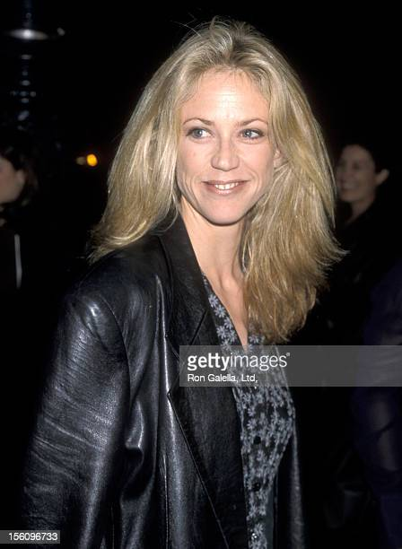 Actress Ally Walker attends the 'Ronin' Beverly Hills Premiere on September 23 1998 at Academy Theatre in Beverly Hills California