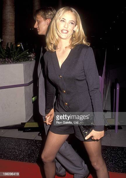 Actress Ally Walker attends the 'Universal Soldier' Hollywood Premiere on July 7 1992 at Hollywood Galaxy Theatre in Hollywood California