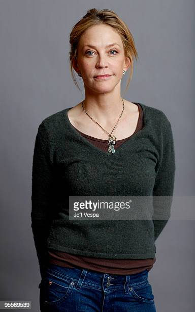 Actress Ally Walker poses for a portrait during the 2009 Sundance Film Festival held at the Film Lounge Media Center on January 18 2009 in Park City...