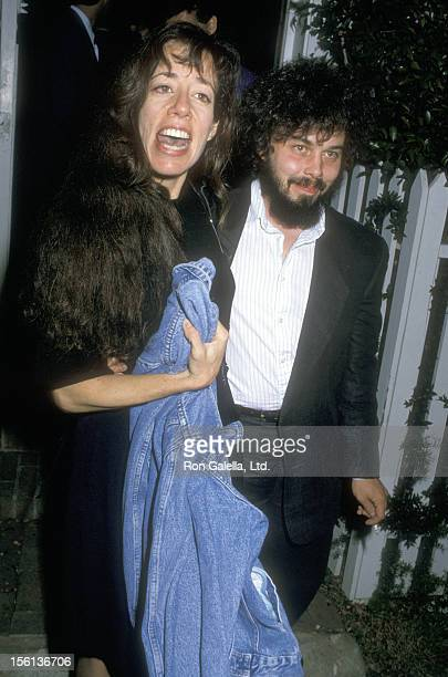Actress Allyce Beasley and Actor Curtis Armstrong attend the Normal Lear Hosts a Cocktail Party for Michael Dukakis Presidential Campaign on...