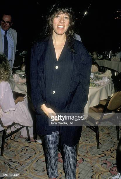 Actress Allyce Beasley attends the 11th Annual Women in Film Crystal Awards on June 5 1987 at Century Plaza Hotel in Los Angeles California