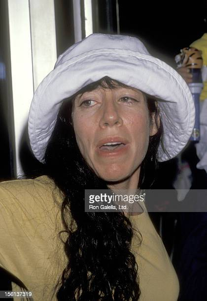 Actress Allyce Beasley attends 'The Greatest Show on Earth' Ringling Bros and Barnum Bailey Circus on August 2 1989 at Los Angeles Sports Arena in...