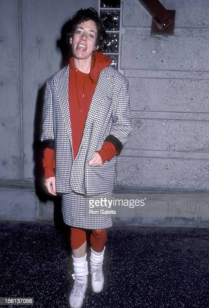 Actress Allyce Beasley attends 'The Iceman Cometh' Opening Night Performance on February 12 1986 at James A Doolittle Theatre in Hollywood California
