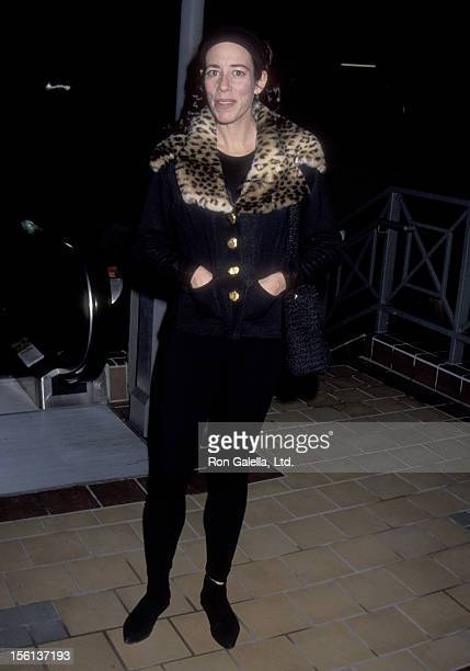 Actress Allyce Beasley attends the 'Motorama' West Hollywood Premiere on January 11 1993 at Laemmle's Sunset 5 in West Hollywood California