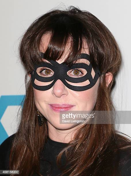 Actress Allyn Rachel attends UNICEF's Next Generation's 2nd Annual UNICEF Masquerade Ball at Hollywood Forever Cemetery on October 30 2014 in Los...