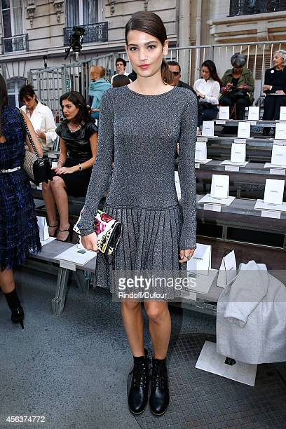 Actress Alma Jodorowsky attends the Chanel show as part of the Paris Fashion Week Womenswear Spring/Summer 2015 on September 30 2014 in Paris France