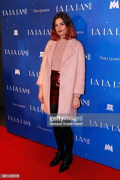 Actress Alma Jodorowsky attends the 'La La Land' Paris Premiere at Cinema UGC Normandie on January 10 2017 in Paris France