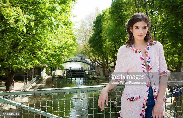 Actress Alma Jodorowsky is photographed for Madame Figaro on April 15 2015 in Paris France Clothing CREDIT MUST READ Louis Teran/Figarophoto/Contour...