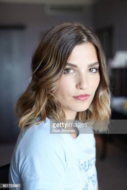 Actress Alma Jodorowsky is photographed for Self Assignment on June 15 2017 in Cabourg France