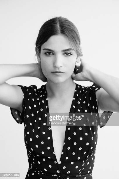 Actress Alma Jodorowsky is photographed on May 24 2017 in Cannes France