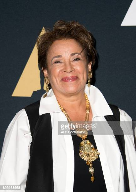 Actress Alma Martinez attends the 35mm screening of 'Zoot Suit' the opening film of the Academy's screenings series 'From Latin America To Hollywood'...