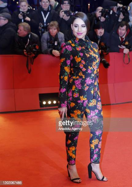 Actress Almila Bagriacik arrives for the opening ceremony and My Salinger Year premiere of the 70th Berlinale International Film Festival in Berlin...