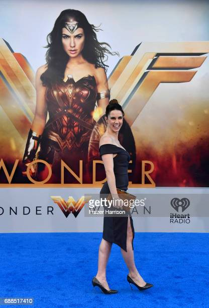 Actress Alona Tal arrives at the Premiere Of Warner Bros Pictures' Wonder Woman at the Pantages Theatre on May 25 2017 in Hollywood California