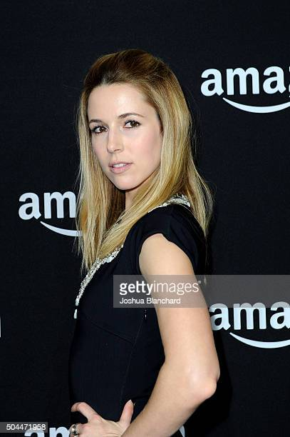 Actress Alona Tal attends Amazon Studios Golden Globe Awards Party at The Beverly Hilton Hotel on January 10 2016 in Beverly Hills California