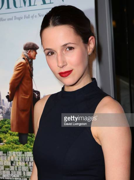 Actress Alona Tal attends the premiere of Sony Pictures Classics' 'Norman' at the Linwood Dunn Theater at the Pickford Center for Motion Study on...