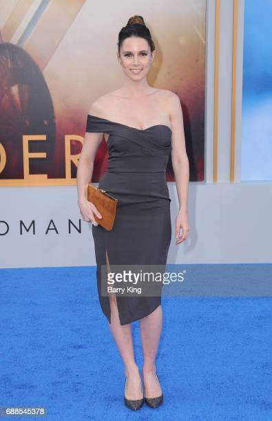 Actress Alona Tal attends the World Premiere of Warner Bros Pictures' 'Wonder Woman' at the Pantages Theatre on May 25 2017 in Hollywood California