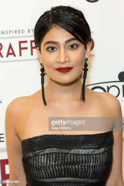 Actress Alpha Banker attends the Premiere Of Epic Pictures Releasings' 'Trafficked' at the Aero Theatre on October 6 2017 in Santa Monica California