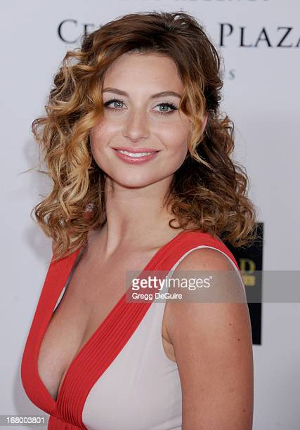 Actress Aly Michalka arrives at the 20th Annual Race To Erase MS Gala 'Love To Erase MS' at the Hyatt Regency Century Plaza on May 3 2013 in Century...