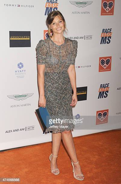 Actress Aly Michalka arrives at the 22nd Annual Race To Erase MS at the Hyatt Regency Century Plaza on April 24 2015 in Century City California