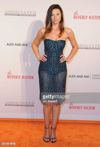 Actress Aly Michalka arrives at the 23rd Annual Race To Erase MS Gala at The Beverly Hilton Hotel on April 15 2016 in Beverly Hills California