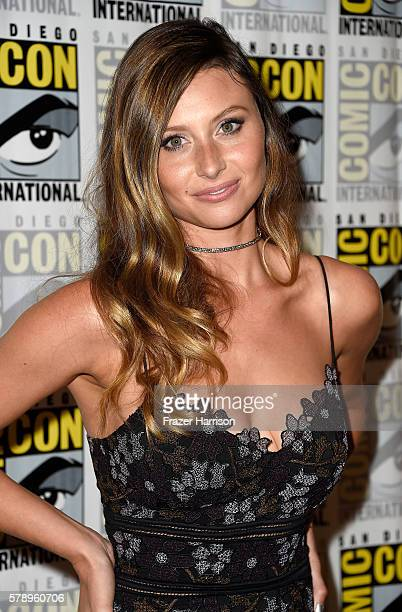 Actress Aly Michalka attends 'iZombie' Press Line during ComicCon International 2016 at Hilton Bayfront on July 22 2016 in San Diego California