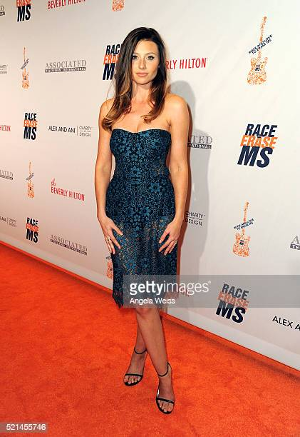 Actress Aly Michalka attends the 23rd Annual Race To Erase MS Gala at The Beverly Hilton Hotel on April 15 2016 in Beverly Hills California