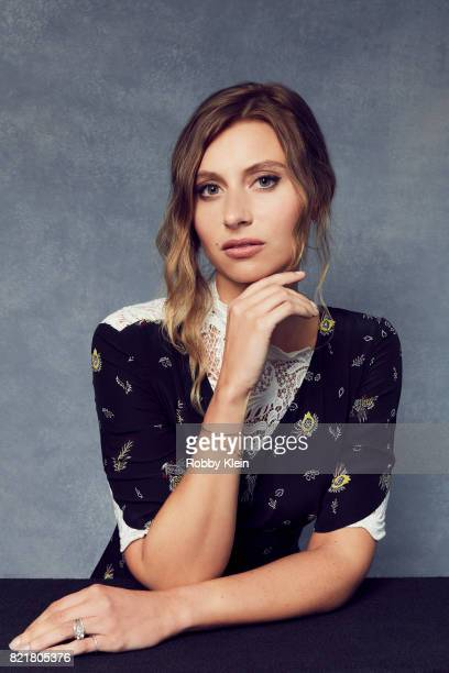 Actress Aly Michalka from CW's 'iZombie' poses for a portrait during ComicCon 2017 at Hard Rock Hotel San Diego on July 21 2017 in San Diego...