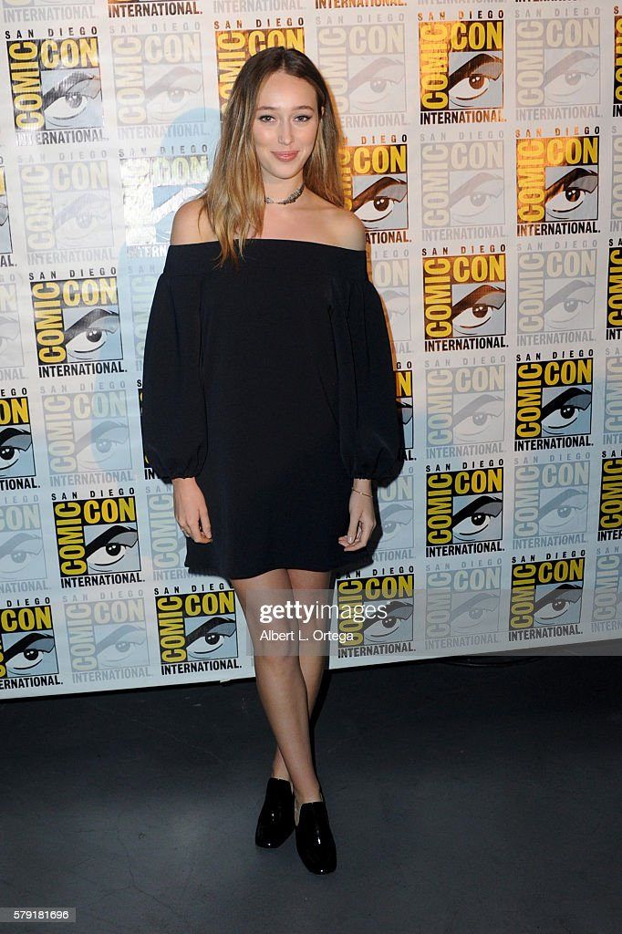 Actress Alycia Debnam Carey attends AMC's 'Fear The Walking Dead' Panel during Comic-Con International 2016 at San Diego Convention Center on July 22, 2016 in San Diego, California.