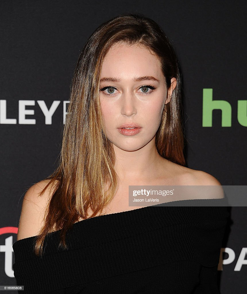 Actress Alycia Debnam Carey attends the 'Fear The Walking Dead' event at the 33rd annual PaleyFest at Dolby Theatre on March 19, 2016 in Hollywood, California.