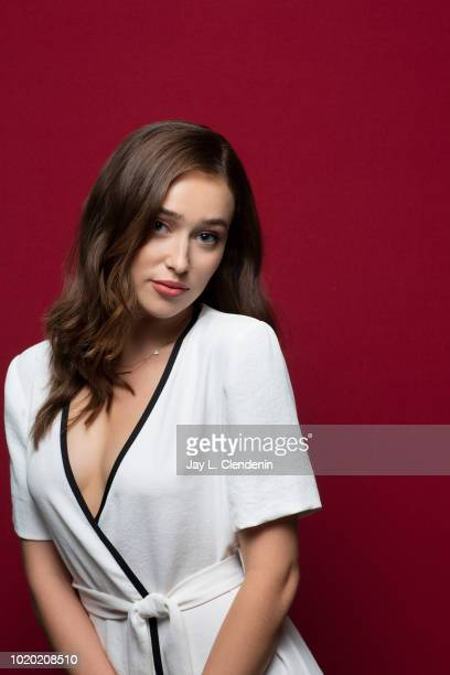 Actress Alycia DebnamCarey from 'Fear the Walking Dead' is photographed for Los Angeles Times on July 20 2018 in San Diego California PUBLISHED IMAGE...