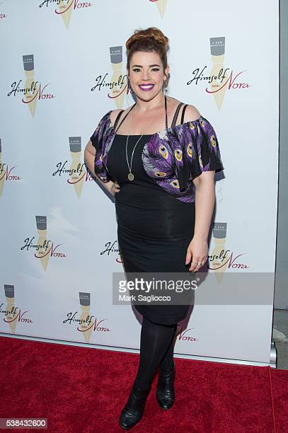 Actress Alysha Umphress attends the 'Himself And Nora' opening night at the Minetta Lane Theatre on June 6 2016 in New York City