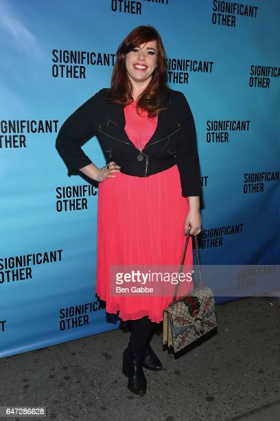 Actress Alysha Umphress attends the 'Significant Other' Opening Night Premiere at Booth Theatre on March 2 2017 in New York City