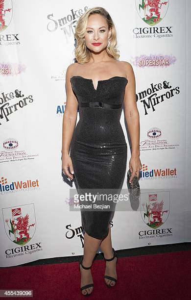 """Actress Alyshia Ochse arrives at Brent Shapiro Foundation For Alcohol And Drug Awareness' Annual """"Summer Spectacular Under The Stars"""" - Arrivals on..."""