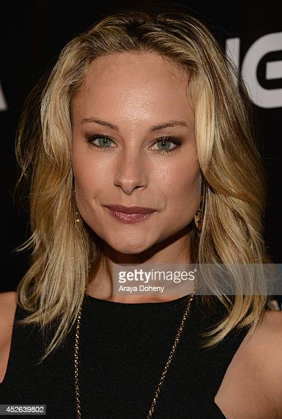 """Actress Alyshia Ochse attends IGN & """"Sin City: A Dame to Kill For"""" Comic-Con International Party during Comic-Con International 2014 at Hard Rock..."""
