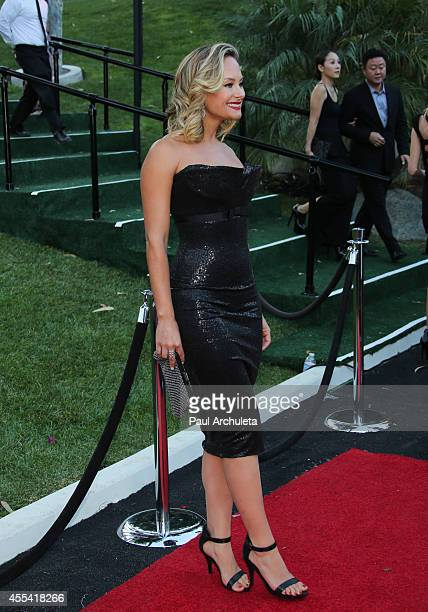 """Actress Alyshia Ochse attends the annual """"Summer Spectacular Under The Stars"""" for the Brent Shapiro foundation for alcohol and drug awareness on..."""