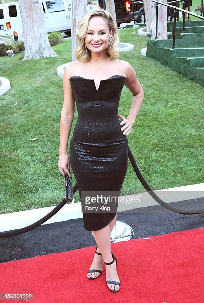 Actress Alyshia Ochse attends the annual 'Summer Spectacular Under The Stars' for the Brent Shapiro Foundation for Alchohol and Drug Awareness on...
