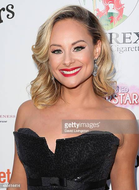 Actress Alyshia Ochse attends the Brent Shapiro Foundation for Alcohol and Drug Awareness' annual Summer Spectacular Under The Stars at a private...