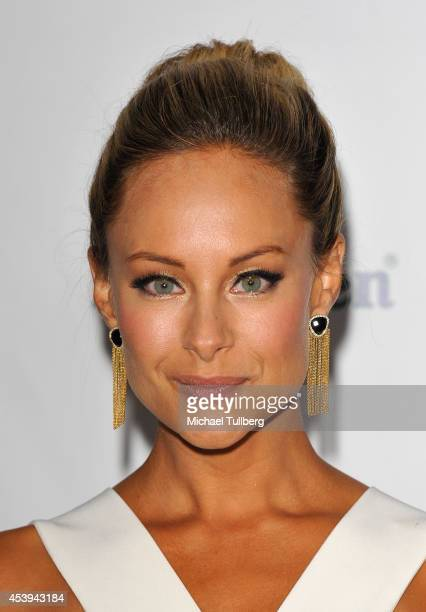 Actress Alyshia Ochse attends the OK TV Awards Party at Sofitel Hotel on August 21 2014 in Los Angeles California