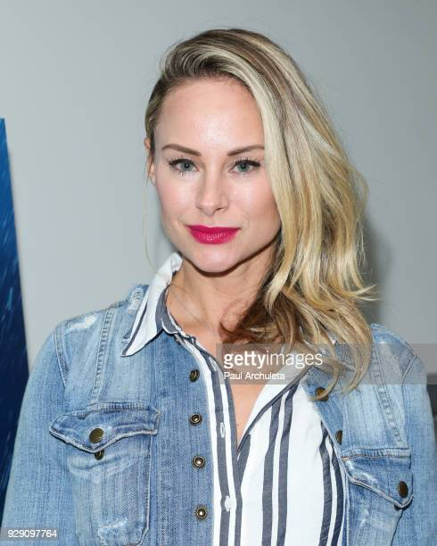 Actress Alyshia Ochse attends the screening for the CW's Life Sentence at The Downtown Independent on March 7 2018 in Los Angeles California