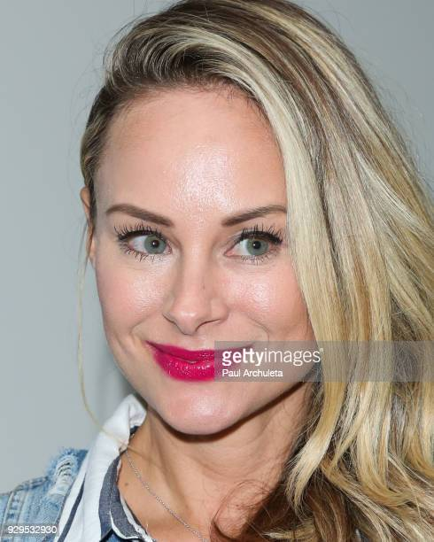 Actress Alyshia Ochse attends the screening for the CW's 'Life Sentence' at The Downtown Independent on March 7 2018 in Los Angeles California
