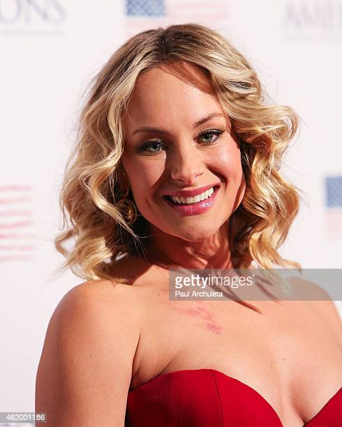 """Actress Alyshia Ochse attends the screening of """"Americons"""" at ArcLight Cinemas on January 22, 2015 in Hollywood, California."""