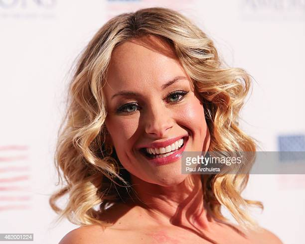 Actress Alyshia Ochse attends the screening of Americons at ArcLight Cinemas on January 22 2015 in Hollywood California