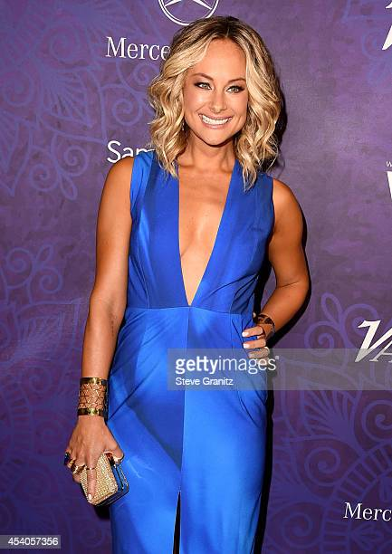 Actress Alyshia Ochse attends Variety and Women in Film Annual PreEmmy Celebration at Gracias Madre on August 23 2014 in West Hollywood California