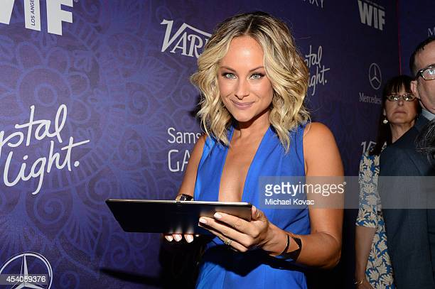 Actress Alyshia Ochse attends Variety and Women in Film Emmy Nominee Celebration powered by Samsung Galaxy on August 23, 2014 in West Hollywood,...