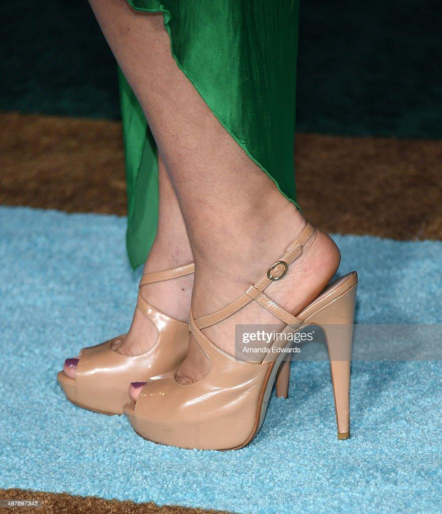 Alyshia Ochse Nude actress alyshia ochse, shoe detail, arrives at the premiere