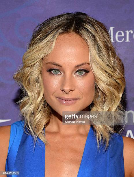 Actress Alyshia Ochse Variety and Women in Film Emmy Nominee Celebration powered by Samsung Galaxy on August 23 2014 in West Hollywood California