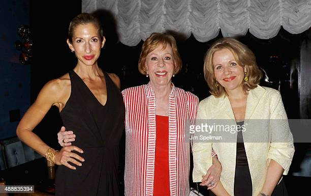 Actress Alysia Reiner actress/comedian Carol Burnett and singer Renee Fleming attend the after party for 'The Carol Burnett Show The Lost Episodes'...