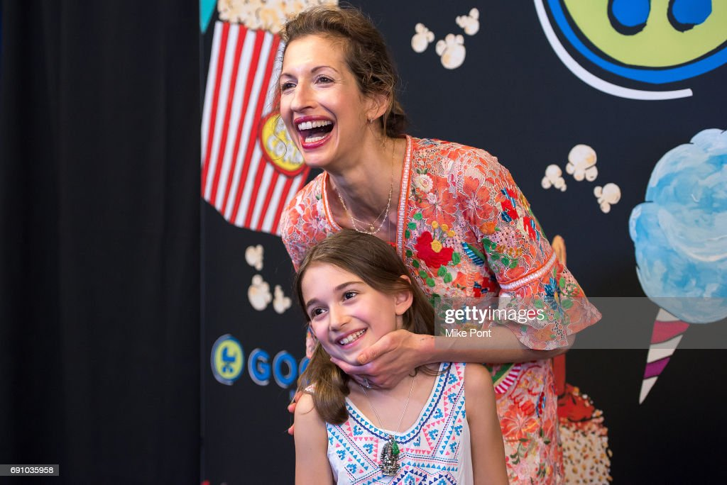 Actress Alysia Reiner and daughter attend the 2017 Good+ Foundation NY Bash at Victorian Gardens at Wollman Rink Central Park on May 31, 2017 in New York City.