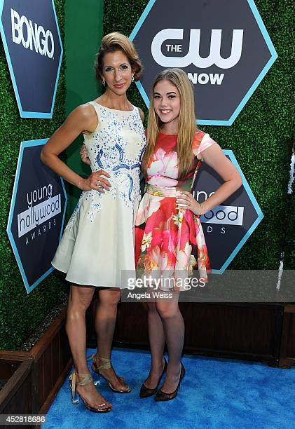 Actress Alysia Reiner and McKaley Miller attend the 2014 Young Hollywood Awards brought to you by Samsung Galaxy at The Wiltern on July 27, 2014 in...